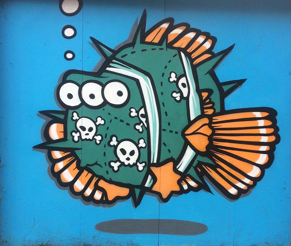 mural street art nottingham