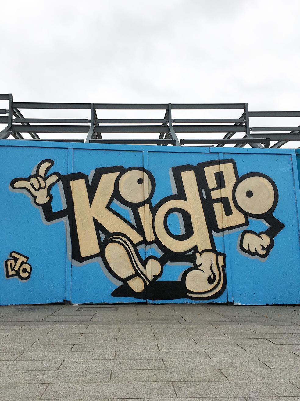 kid30 graffiti street art nottingham sneinton market creative quauter